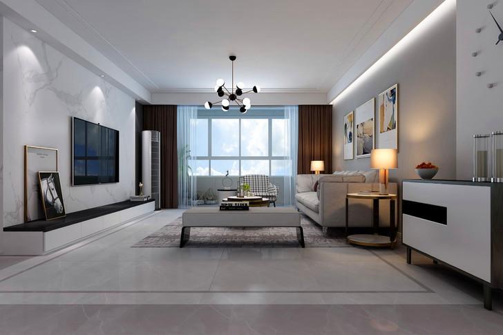 保定业之峰装饰为你解析客厅墙面用什么材料好