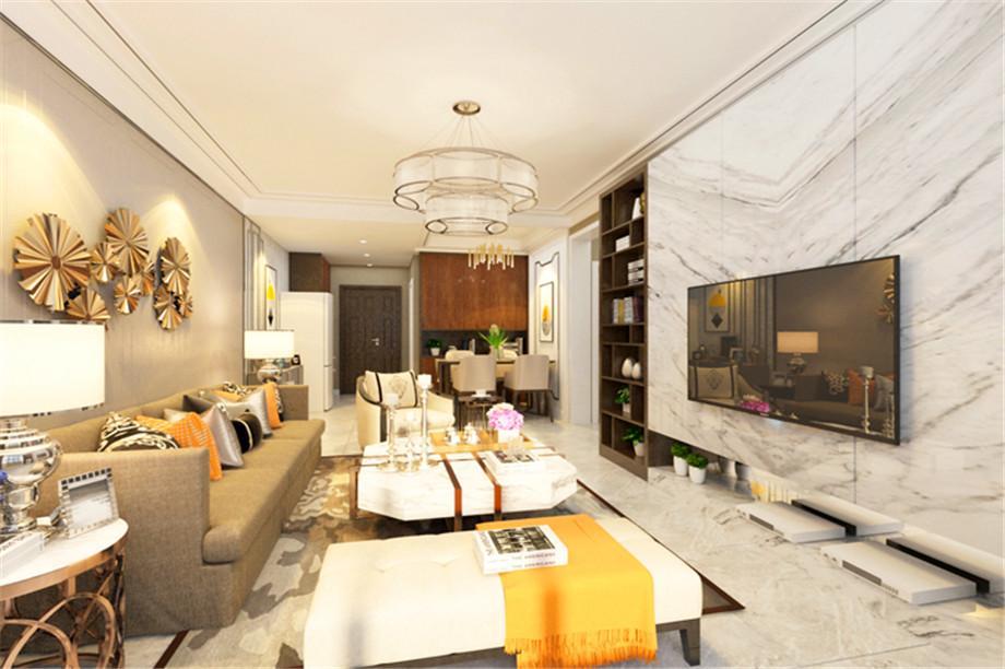 沙发与墙面配色的4种靓丽组合